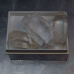 clear quartz natural gemstone crystal  quartz specimens x3  55mm  L&L-18 @sold@